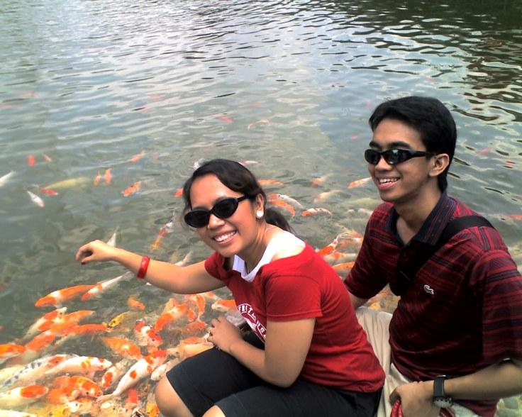 @ Tajur with the fish