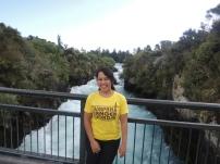 Jauh-jauh ke NZ, kaosnya tetap bilang kangen Jogja! :D