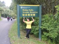 New Zealand 4d Huka Falls