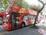 Naik si Bus merah ini, $33 buat 24 jam lho