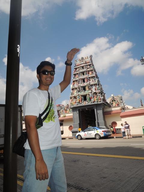 Sri Mariamman Temple, salah satu kuil Hindu di Chinatown