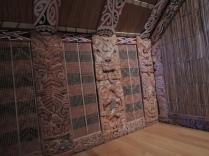 Sisi luar rumah tradisional Maori
