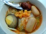 Hokkien Mee alias Prawn Noodle. Kuliner Penang.