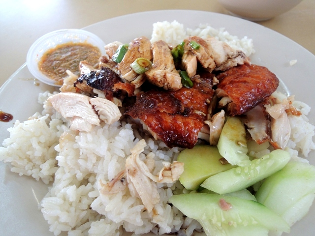 Kuliner Penang lainnya: Chicken Rice a.k.a Nasi Ayam