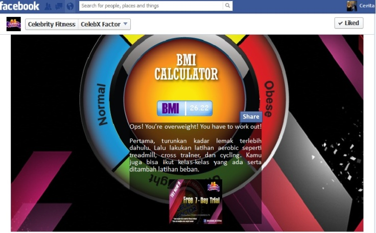 Hasil BMI Ceritaeka