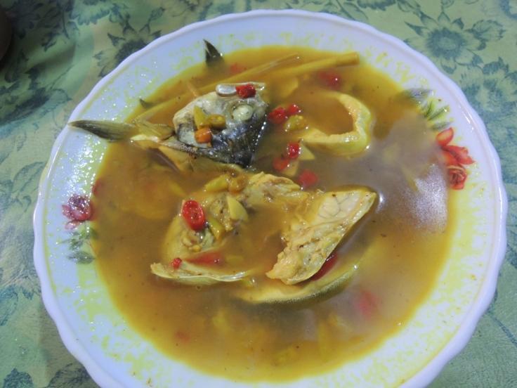 Penampakan Ikan Patikoli yang dimasak Pindang Sruni. Jangan ngiler yaaa :P