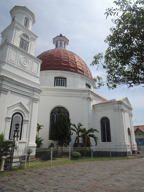 Gereja Blenduk yang eksotis.