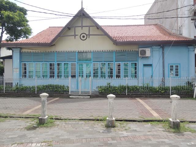 Rumah Dinas Gembala Sidang Gereja Blenduk (Pendeta).