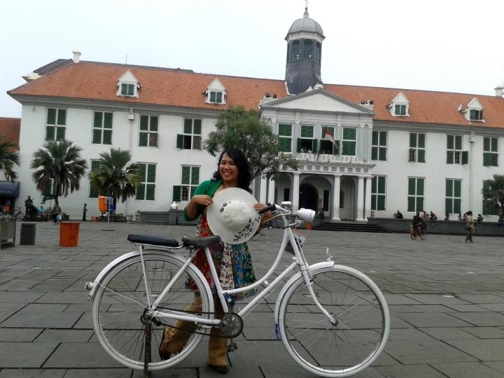Of of the site in Kota Tua Jakarta: Museum Fatahillah.
