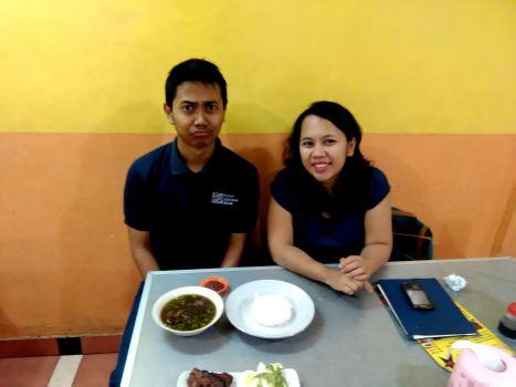 Ini nih malaikat baik hati yang jadi guide selama saya di Malang ;) Hai Arsyaaad