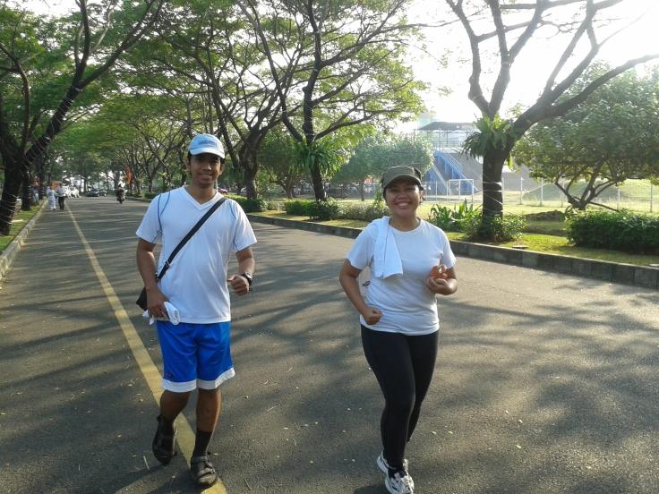 Jogging duluuu