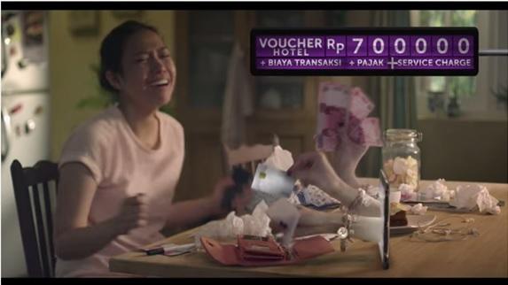 Ini lho cupilkan penampakan iklan Traveloka si cewek dengan suara aduhai ;)