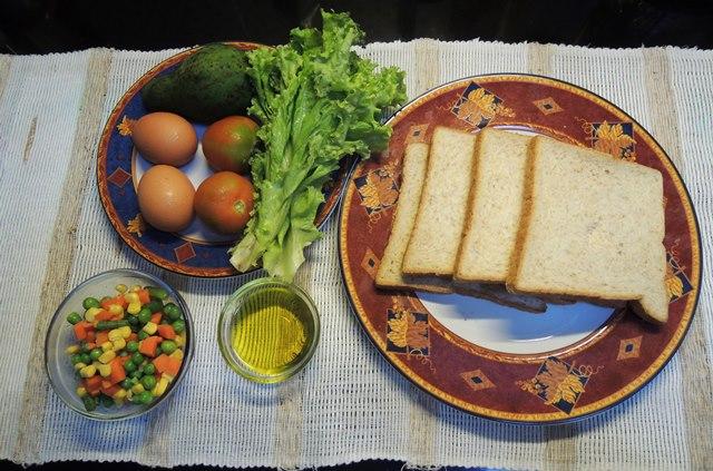 Olive Oil Sandwich 1