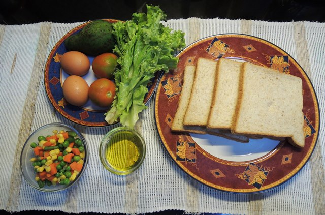 Olive Oil Sandwich 1