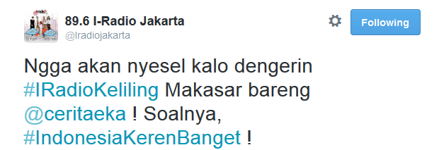 89.6_I-Radio_Jakarta_on_Twitter a