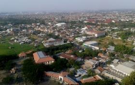 Kota Semarang dilihat dari atas