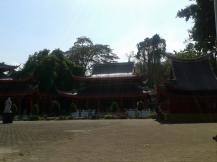 Areal Klenteng Sam Poo Kong