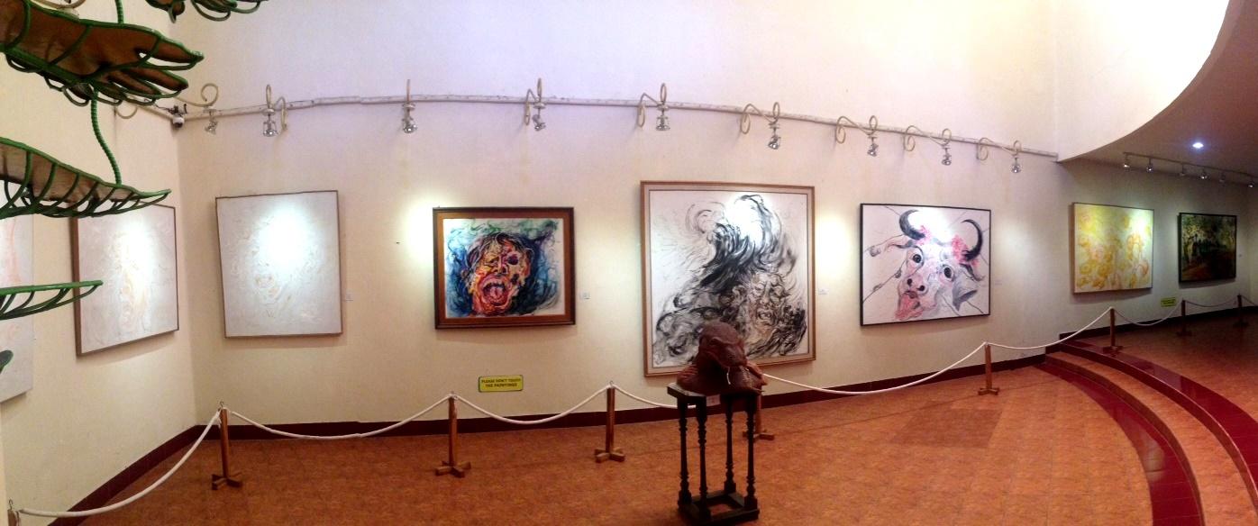 Museum Affandi: Mengasah Imajinasi dalam Selembar Daun
