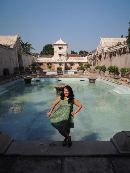 Kolam Pemandian Taman sari