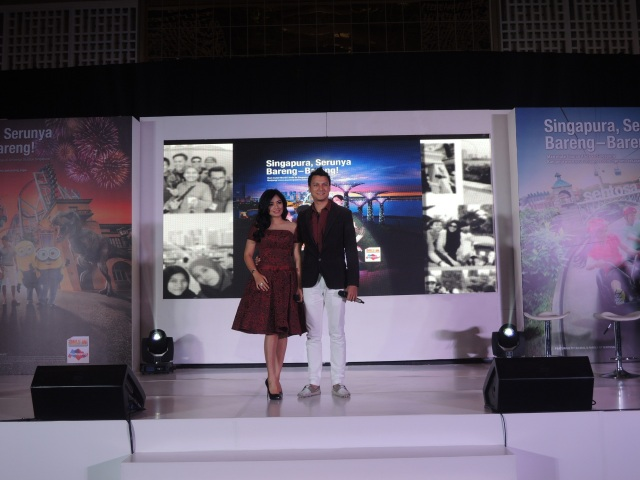 Christian Sugiono & Titi Kamal, the key opinion leaders untuk Singapura Serunya Bareng-bareng