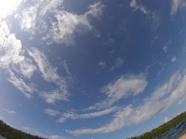 Akan selalu kangen sama cantiknya langit di Manado!