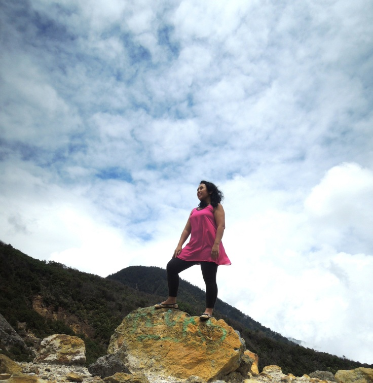 Eka di Gunung Papandayan