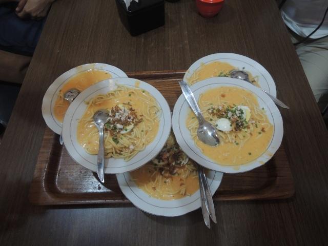 6 Mie Celor Palembang