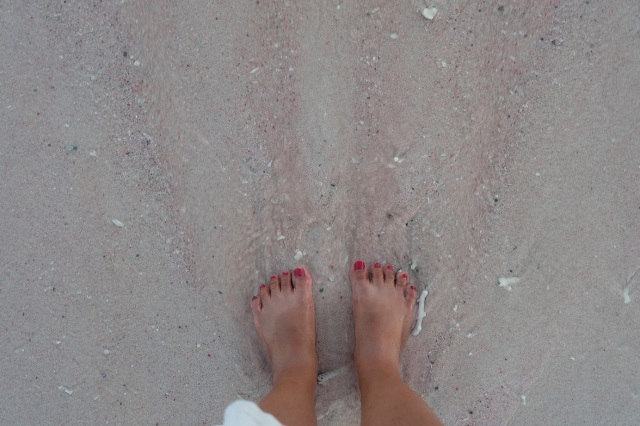 Pink Beach Flores 3