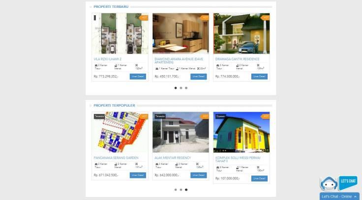Ada banyak pilihan buat konsumen kalau mau cari-cari rumah. Bisa d-search mau rumah baru atau second segala lho.