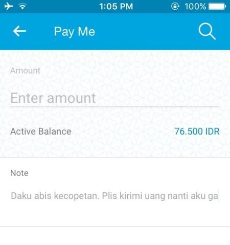 Fitur Pay Me Jenius BTPN