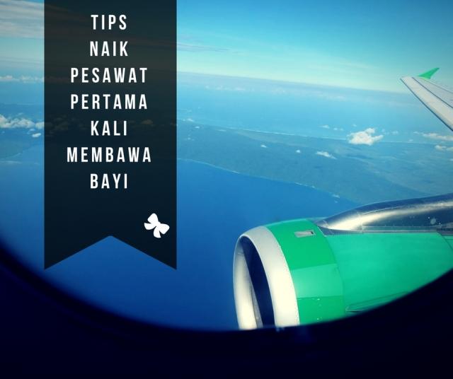 Tips Naik Pesawat Pertama Kali Membawa Bayi