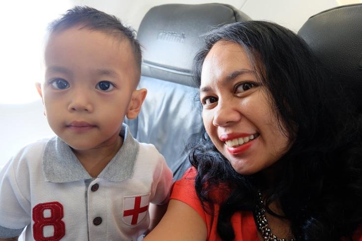 Berduaan di pesawat :*
