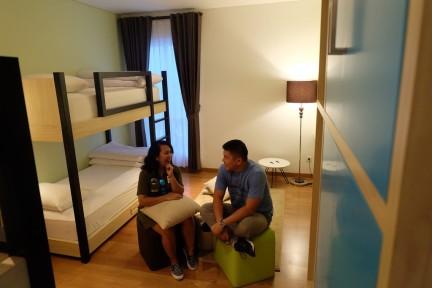 kamar Tematik Yan's House Hotel Bali 15
