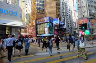 Hong kong Causeway Bay 2