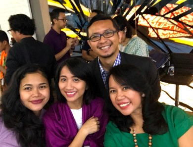 1st Anniversary Jenius Connect. Rame dan seru sama temen-temen blogger lainnya