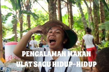 Makan Ulat Sagu