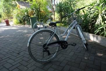 Sepeda yang bisa disewa di Gembira Loka
