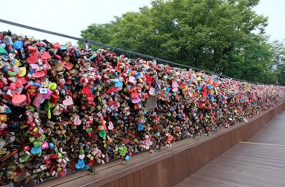 Love Lock Namsan Seoul Tower