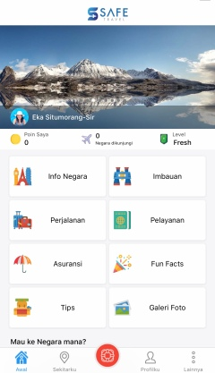 Safe Travel Indonesia Apps