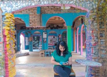 Museum Andre Hirata Bagian Dalam